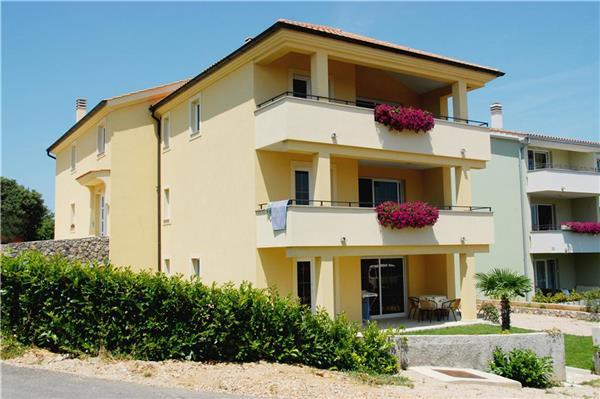 Apartment for 5 persons in Krk - Image 1 - Krk - rentals