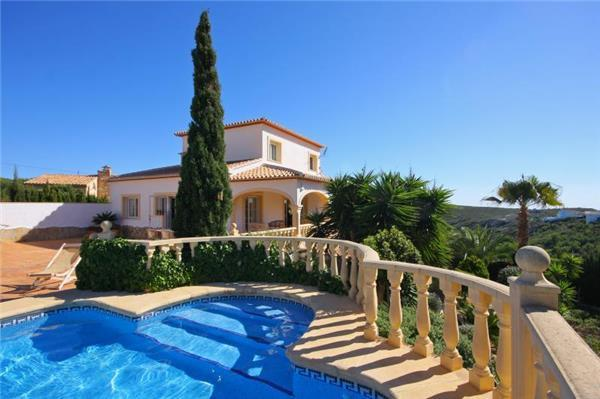 Holiday house for 12 persons, with swimming pool , in Moraira - Image 1 - Benitachell - rentals
