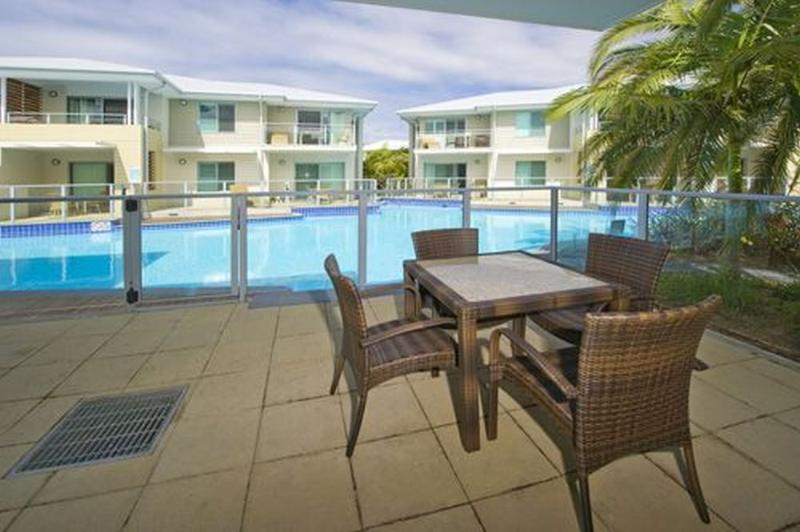 Balcony - Pacific Blue Resort 129 - New South Wales - rentals