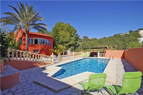 Attractive holiday house for 16 persons, with swimming pool , in Moraira - Image 1 - La Llobella - rentals