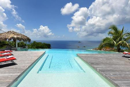 Blue Swan Villa comes complete with a pool bar and  stunning sunset views - Image 1 - Lurin - rentals