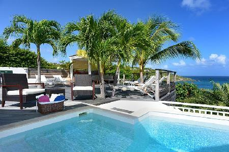 Modern Villa Escapade boasts splendid views, large pool & close to Marigot Bay - Image 1 - Marigot - rentals