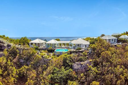 Ultra private villa Byzance ocean facing with pool & a walk to Colombier Beach - Image 1 - Colombier - rentals