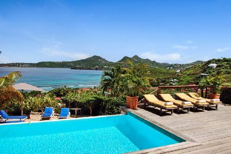 Magnificent Micalao Villa, with spectacular ocean views - Image 1 - Anse Des Cayes - rentals