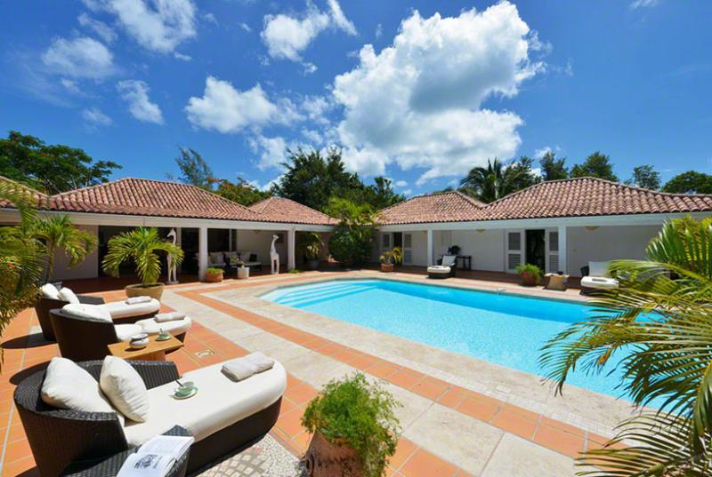 St. Martin Villa 68 The Wide Open Design Of This Spacious Four Bedroom Villa Is In Complete Harmony With Its Natural Setting. - Image 1 - Terres Basses - rentals