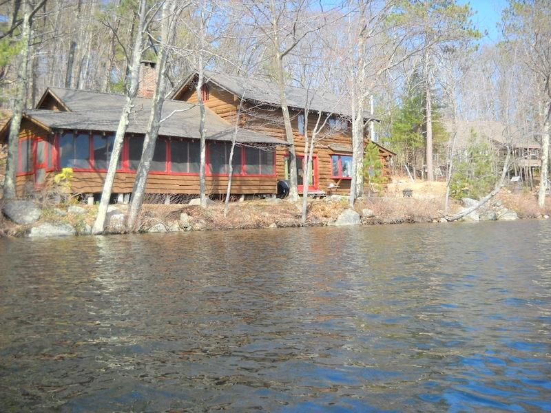 Waterfront log home - Waterfront Log Home with sunsets! 114508 - Madison - rentals