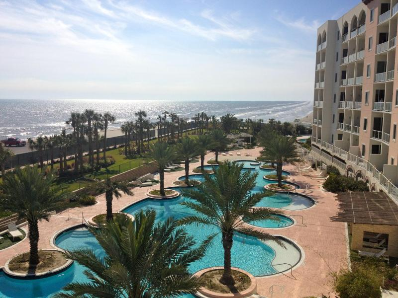 Can you believe this view from your balcony! There is nothing like being just steps from the ocean. - The Chocolate Diamond - Galveston - rentals