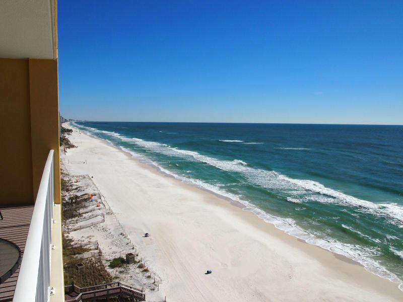 Enjoy the beach in this BEACH FRONT CONDO: 2 BD/2 BA; near Pier Park with FREE beach service for 2! - Image 1 - Panama City Beach - rentals
