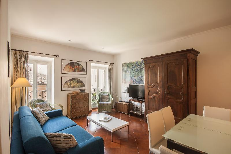 Living room - AP07 Rome Accommodation Campo de Fiori - Rome - rentals