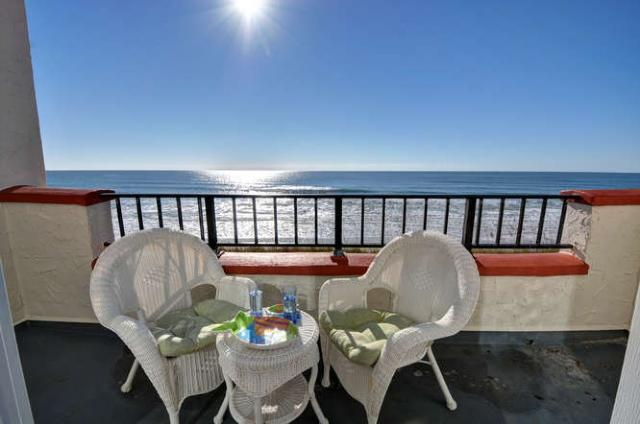 Drink in the Unobstructed Ocean Views! - 217A Villa Capriani-Direct Oceanfront, Amazing View! - North Topsail Beach - rentals