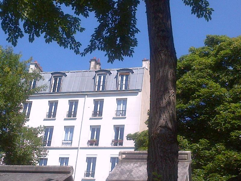 Our Apt from the Cemetery - Panoramic Paris-Montmartre Cemetery-Caulaincourt - Paris - rentals