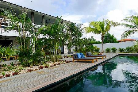 Spacious Garden Villas Tortuga great for large groups, with saltwater pool & gazebo - Image 1 - Kralendijk - rentals