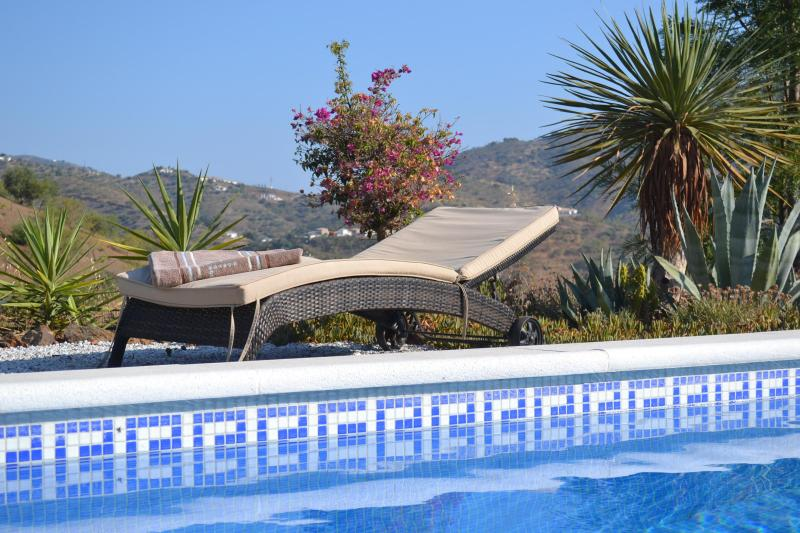 Enjoy a day at the pool - Finca Duende - fantastic holiday home with private pool - Malaga - rentals