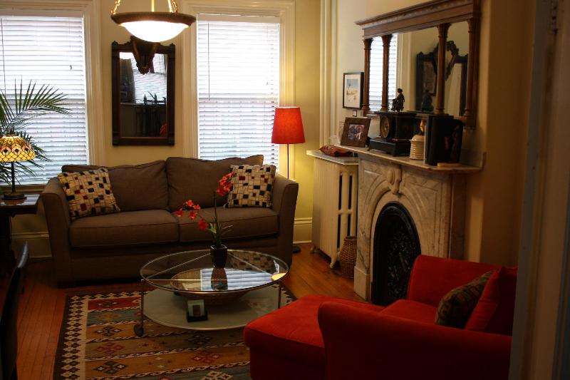 Living Room - Special!! Sunny!!Home Away!  L@@K, Condo - Boston - rentals