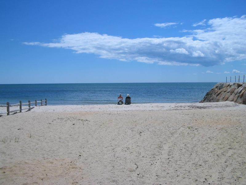 Private beach right across the street - Beautiful Cape Condo Across from Private Beach - Dennis Port - rentals