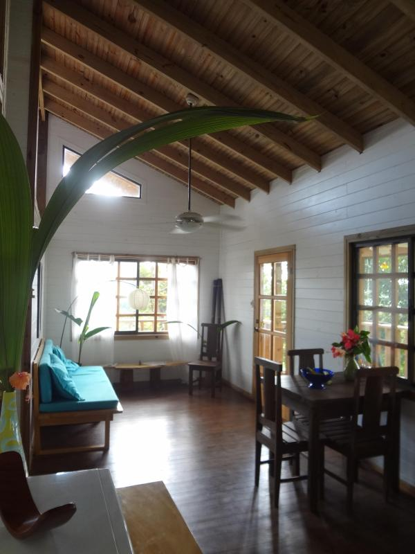 Living/Dining space - Tree Top Cottage - Private Ocean View Retreat - Dominical - rentals