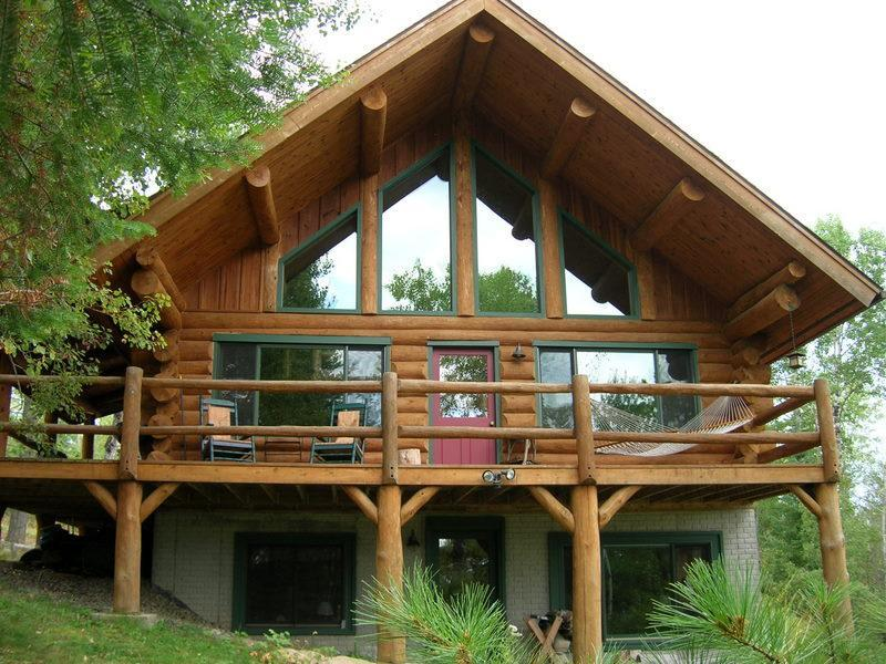 Hand-scribed log home - Year-Round Log Home on Private Everett Lake - Ely - rentals