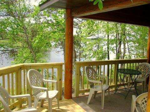 Beautiful view from the deck - Beautiful Island Getaway Cabin on Bear Island Lake - Ely - rentals