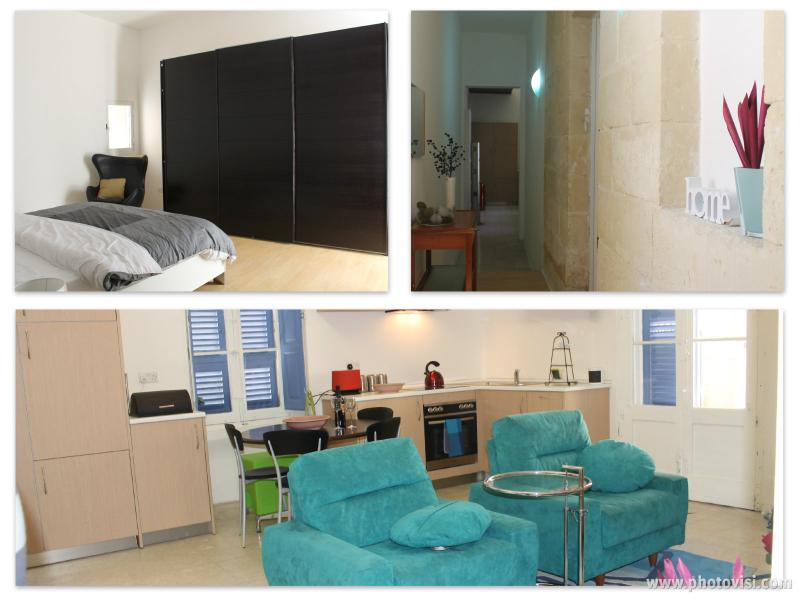 Completely refurbished with modern furniture and all comfortable amenities  - Central Sliema Ground Floor apartment - Sliema - rentals