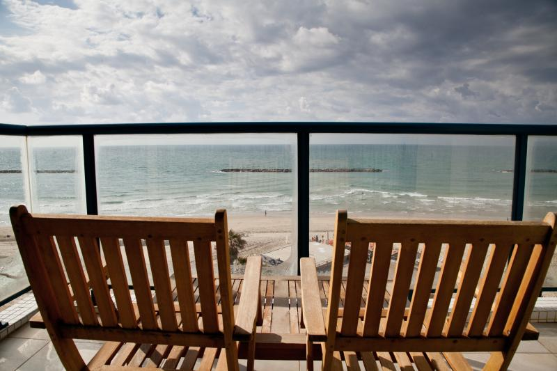 THE Beach Apartments Tel Aviv - Exclusive Apartment on the beach of Tel Aviv - Image 1 - Tel Aviv - rentals