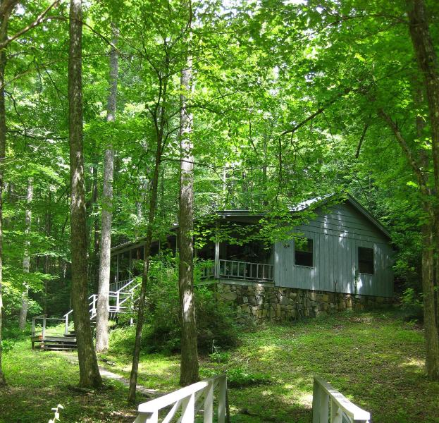 By the Babbling Brook - My Little Blue House - Hiawassee - rentals