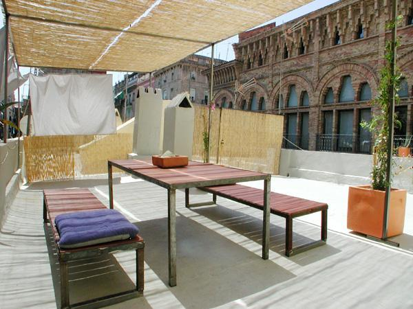 Private Sun Terrace (located upstairs) - BEACH TERRACE! up to 7! Beach area! - Barcelona - rentals