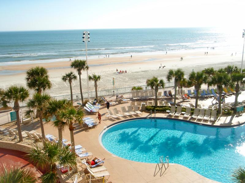 One of the 3 outdoor pools - LABOR DAY WEEKEND!  Wyndham Ocean Walk Resort - Daytona Beach - rentals