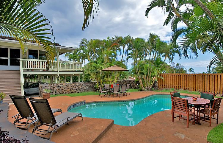 Private pool - Kaanapali Resort Home, Sleeps 10, Ocean Views! - Kaanapali - rentals