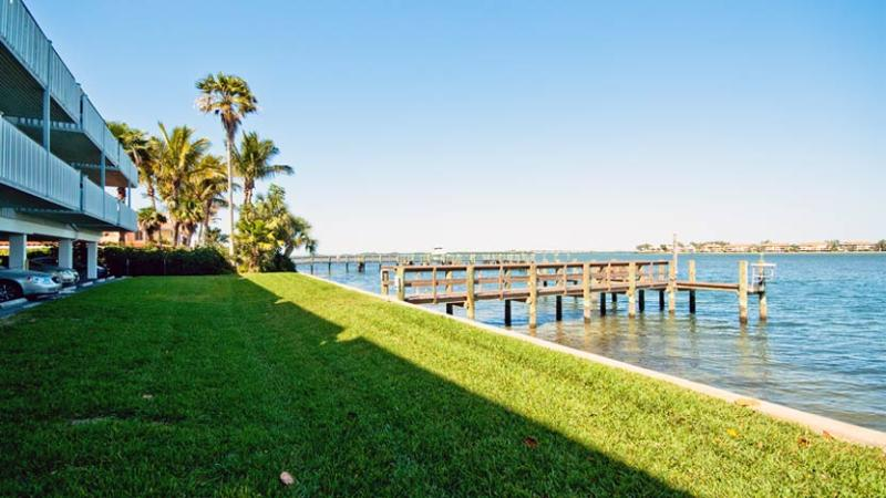Boat Dock - Baywatch 8: 2BR/2BA Condo with Dock and Heated Pool - Bradenton Beach - rentals