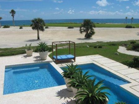 View from outdoor patio - Spectacular Oceanfront Villa Cap Cana-Full Staff - Punta Cana - rentals