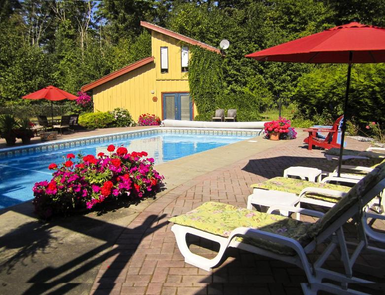 La Pause Vacation Suite - Private Pool – Secluded Vacation Suite and Spa - Courtenay - rentals