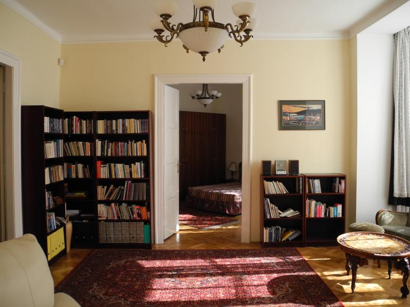 Living room to master bedroom  - Perfect Base from which to Explore Budapest - Budapest - rentals