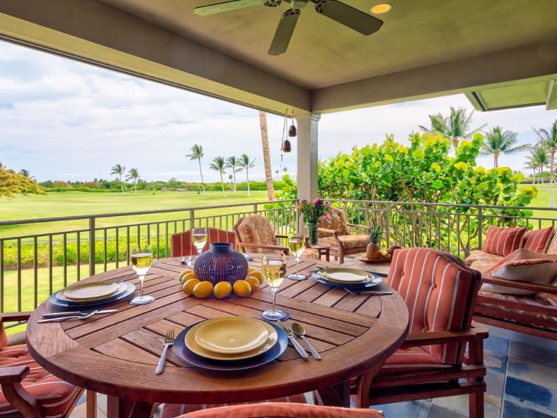 Four Seasons Luxury 3BD Fairway Villa, Upper Level, Newly Renovated With Spectacular Views - Image 1 - Kailua-Kona - rentals