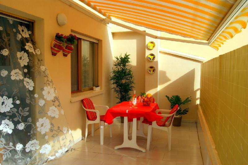 Terrace - Cosy stylish apartment in Calpe - Calpe - rentals
