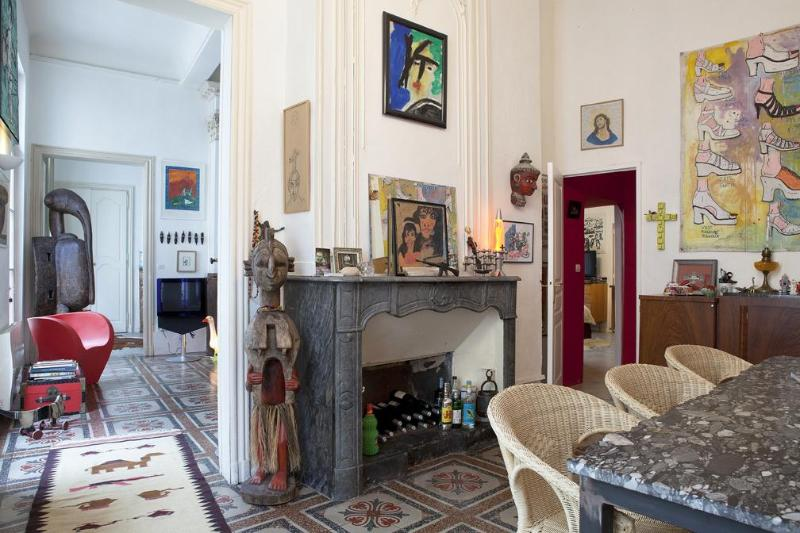 Entrance and dining room - Lovely apt in Montpellier historical center - Montpellier - rentals