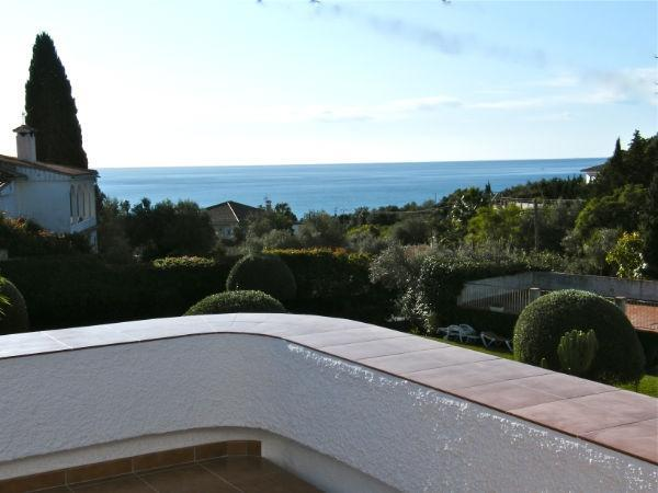 View from The Lounge and Kitchen Terrace - Beautiful Villa with Private Pool and Sea View - Benalmadena - rentals