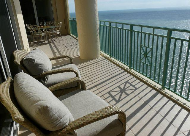 Balcony and View - Belize 2008 - Marco Island - rentals