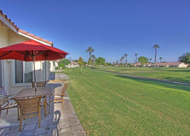 Patio View - Highly Upgraded 2 Bedroom on the Golf Course - Indio - rentals