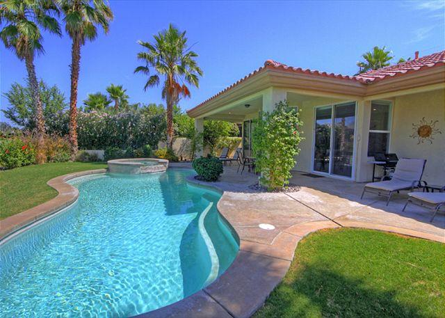 Pool View - Amazing Mountain & Golf Course View from your Vacation Retreat Home - La Quinta - rentals