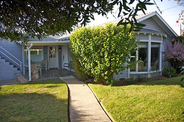Front View of Home Behind Fence - 3 Blocks to the Embarcadero! Large Yard! - Morro Bay - rentals