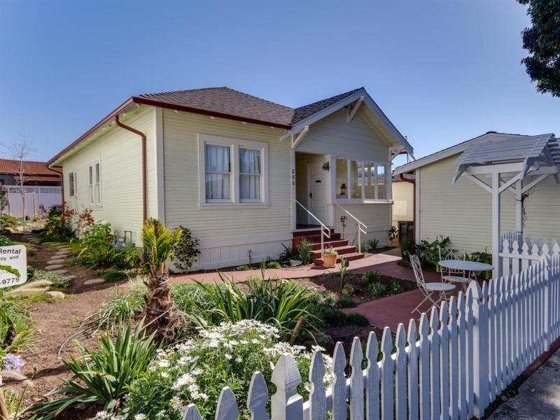 Street View of 880 Main - Historic Downtown Cottages! - Morro Bay - rentals