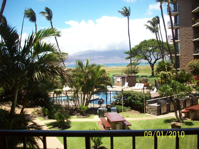 View from lanai - VILLAGE BY THE SEA - Kihei - rentals