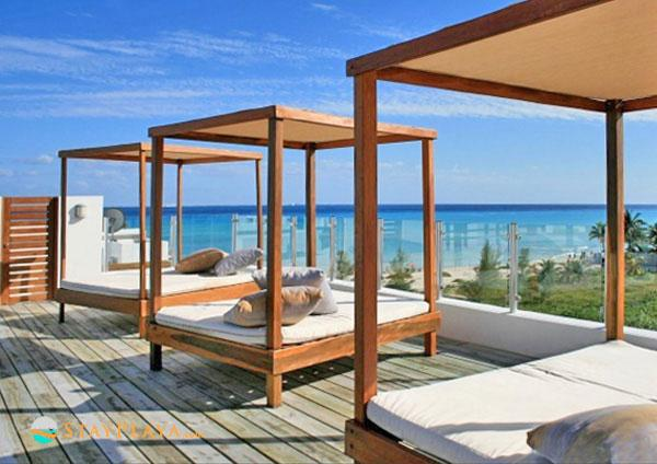 Beach Front Penthouse 6ppl- Private Terrace w Tub - Image 1 - Playa del Carmen - rentals