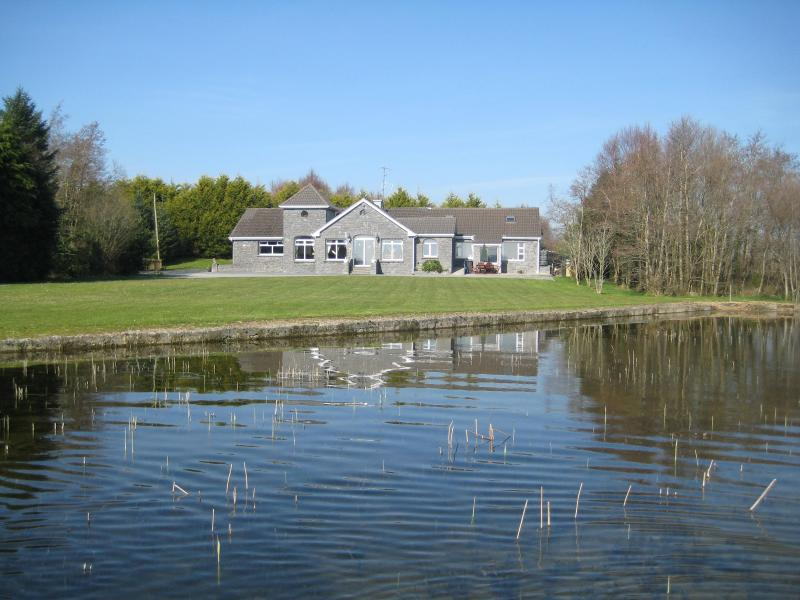 View of Lodge from Lake - Derry Quay Lodge - Cong - rentals