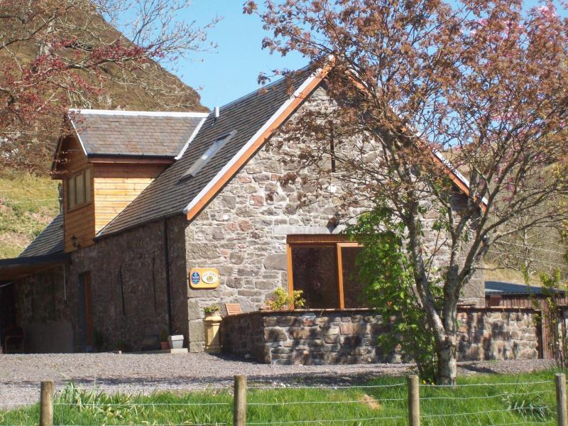 The Barn in Spring - The Barn at Scammadale Farm - Argyll & Stirling - rentals