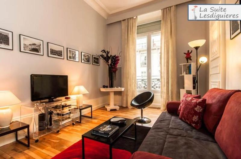 Living room - Window side - Vacation apartment in Grenoble - Grenoble - rentals