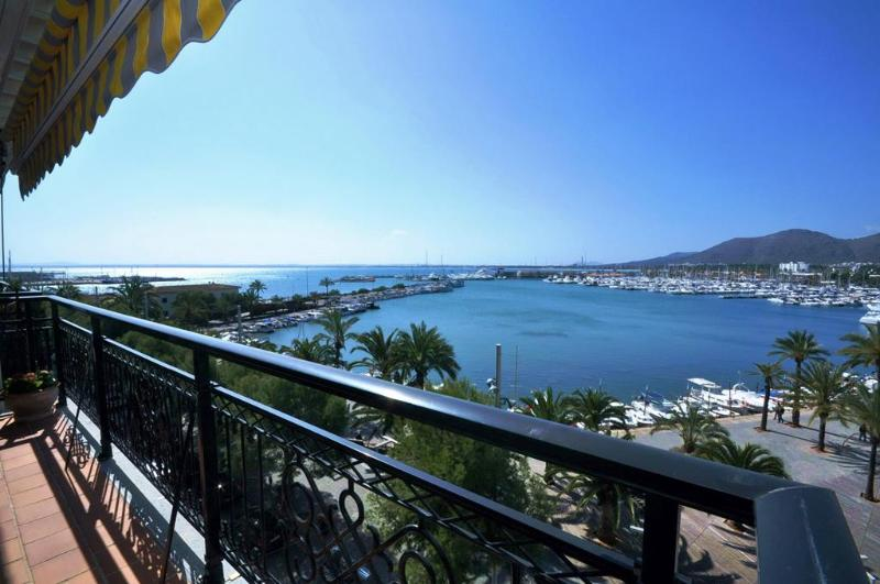 View from Terrace - Fantastic Penthouse with views to all Alcudia Bay - Alcudia - rentals
