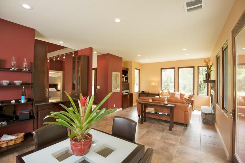 Living-dining room - Wine country cottage - Philo - rentals