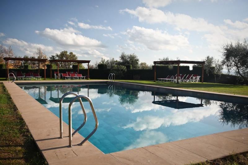 the swimming pool - Castello di Pastine - 1A - Barberino Val d'Elsa - rentals