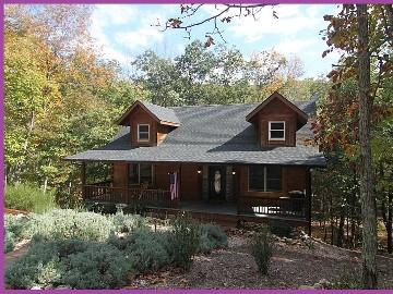 Fall at Antlers Crossing - LUXURY LOG HOME-Pool Table, Xbox Kinect, Wii, Wifi - Massanutten - rentals